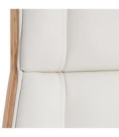 Fauteuil de Bureau Ouranos Blanc