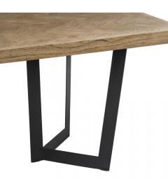 Table A Manger Cantine Teck 220cm