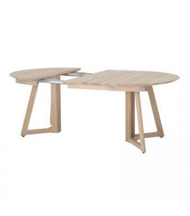 Table A Manger Extensible Owen Ronde à Ovale Chêne