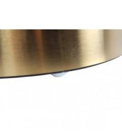 Pouf en Velours D.35cm Jaune Indie Serge