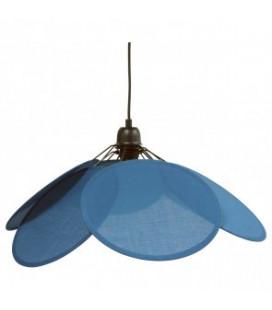 Suspension Evasion Coton/Lin Bleu Ø73cm H50cm