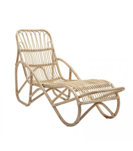 Chaise Longue Costa Rotin - Bloomingville