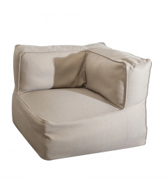 Modulable Coin Gissele Taupe Outdoor