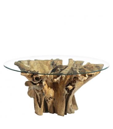 Table A Manger Natural Nordica Ronde ø 150cm - 8 Personnes