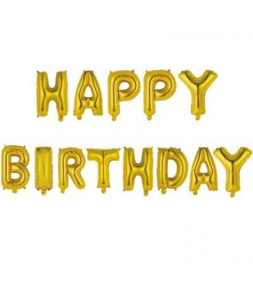 Ballons Happy Birthday Grand Modèle