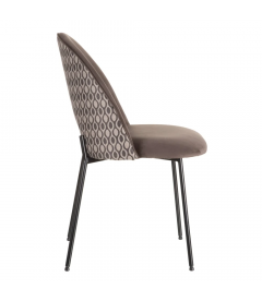 Chaise Curva Taupe