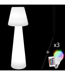 Lampadaire Bossa + 3 Ampoules LED 150 cm Outdoor