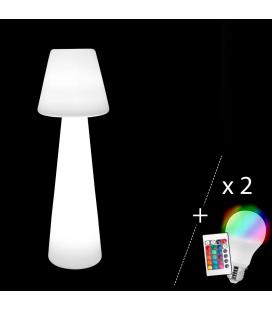 Lampadaire Bossa + 2 Ampoules LED 110 cm Outdoor