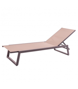 Chaise Longue Nadia Graphito Tapioca - Outdoor
