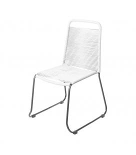 Chaise Cord Garden Blanc/Black - Outdoor