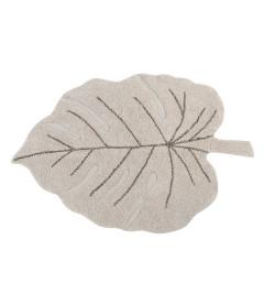 Tapis Monstera Natural Coton 120/180 cm Lavable en Machine