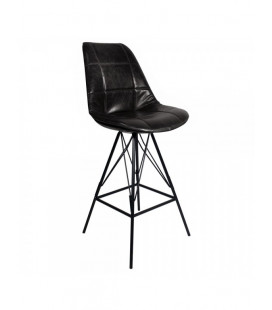 Lot de 2 Chaises De Bar Staten Black