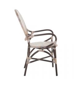 Chaise Célèbes Antique Croisillons Beige