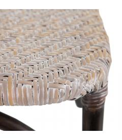 Chaise Florès Antique Croisillons Beige
