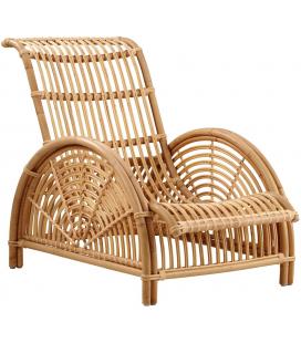 "Fauteuil ""Paris"" en rotin naturel by Arne Jacobsen"