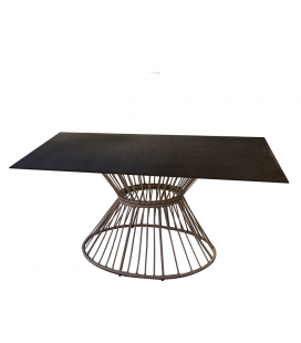 Table à manger 150cm Ariki Polyrotin