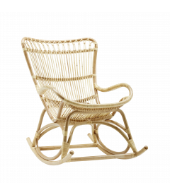 Rocking Chair Naturel Monet by Sika-Design
