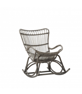 Rocking Chair Taupe Monet by Sika-Design