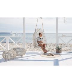 Balancelle à Suspendre Renoir Blanc Outdoor sans Coussins