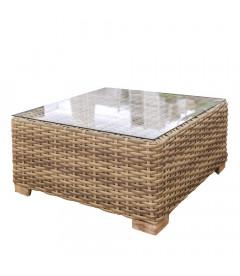 Table de Salon Saba en Rotin