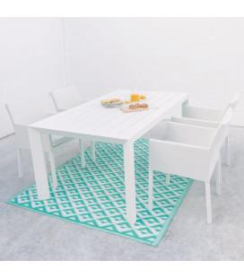 Table Repas IO 180cm Alu