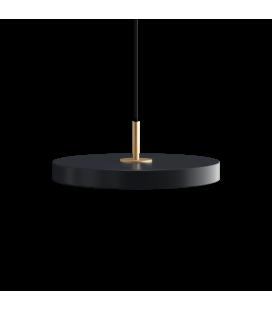 Suspension Asteria Mini Gris Anthracite 31cm Umage