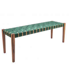 Banc Weave Vert - Outdoor Leitmotiv