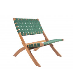 Fauteuil Weave Vert - Outdoor Leitmotiv