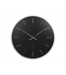 Horloge Karlsson Mirror Numbers Noire