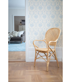 Chaise Accoudoirs Rossini Naturel Sika-Design