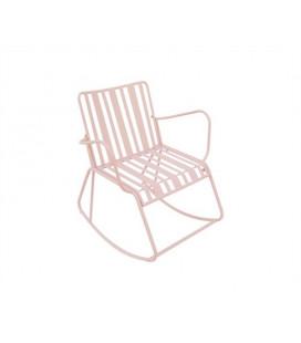 Rocking Chair Lines Rose - Outdoor Leitmotiv