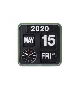 Wall Clock Mini Flip Vert