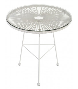 Table Acapulco Blanche Ø50cm