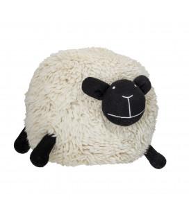 Pouf Mouton Blanc Bloomingville