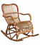 Rocking Chair en Rotin Brut