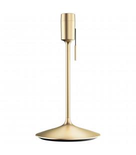 Champagne Pied de Lampe USB Laiton Brossé