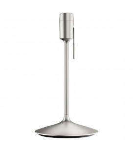 Champagne Pied de Lampe USB Acier Brossé