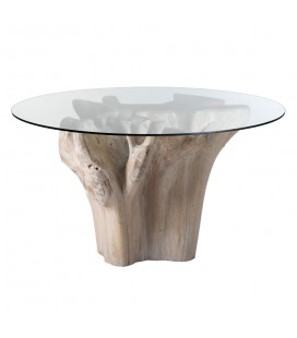 Table A Manger Natural Nordica 140cm - 6 Personnes