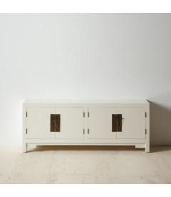 Meuble Bas Oriente Moderne Blanc