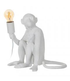 Lampe Singe Blanc