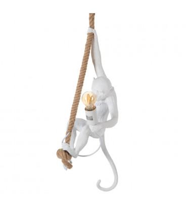 Suspension Singe Blanc