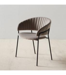 Chaise Formato Gris Argent