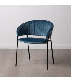 Lot de 2 Chaises Formato Bleu
