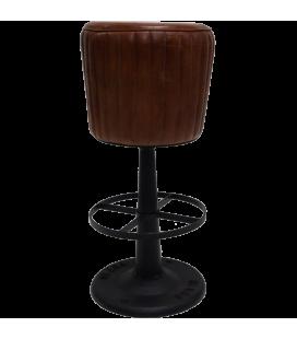 Tabouret de Bar Hudson Big Cuir 79 cm