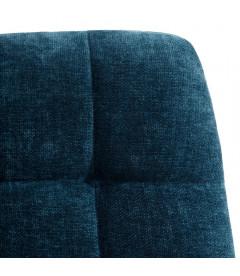 Set de 4 Chaises Manta P38 Bleu Foncé Nuageux