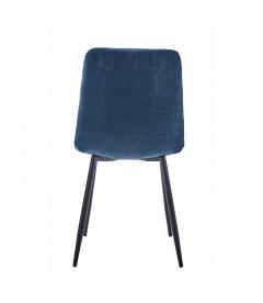 Chaise Manta Bleu Chenillé