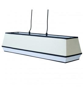 Suspension Raphia Blanc 74 cm