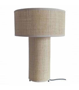 Lampe Raphia Naturel 39 cm