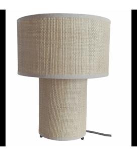 Lampe Raphia Naturel 28 cm