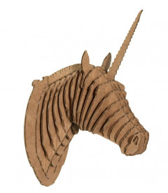 Licorne Merlin The Unicorn Large Brown